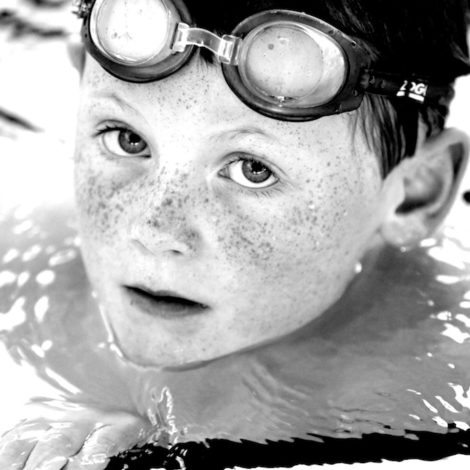 Boy with Freckles
